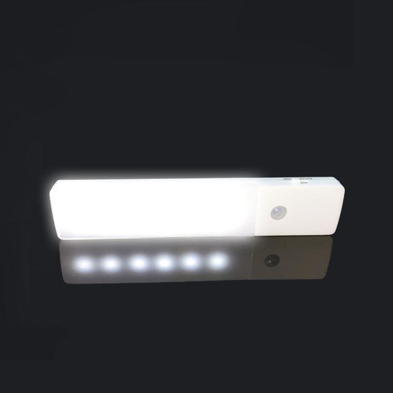 Wall Lamp With Usb : Unique PIR Motion Sensor USB Rechargeable LED Cabinet Night Light Wall Lamp eBay