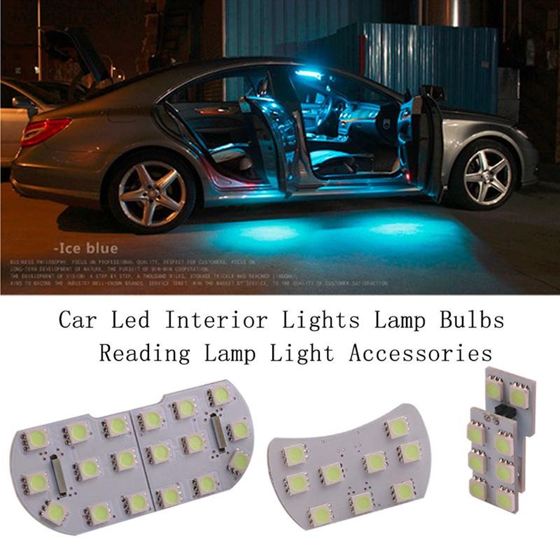 New 4pcs Lot Car Led Interior Lights Lamp Bulbs Reading Lamp Light Accessories Ebay