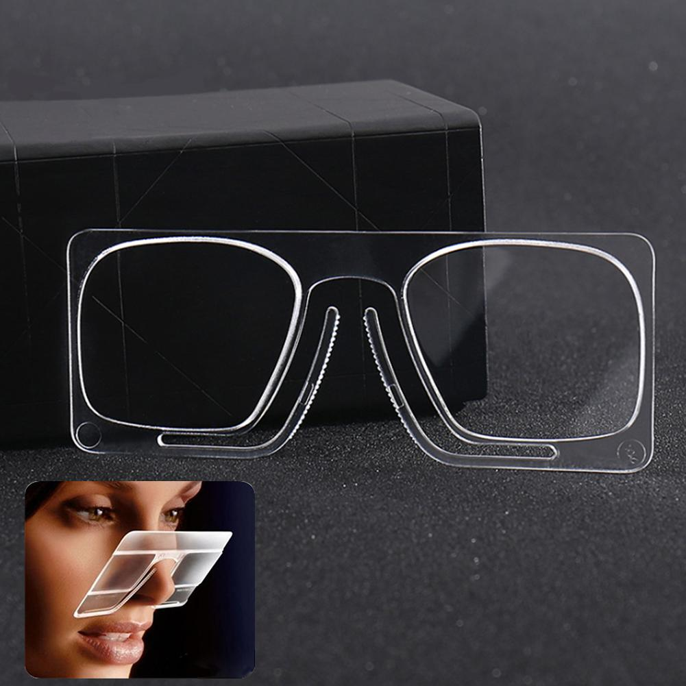 wallet nose magnifying reading glasses mini clip strength