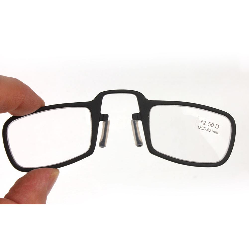 new mini nose clip magnetic reading glasses with 1 0