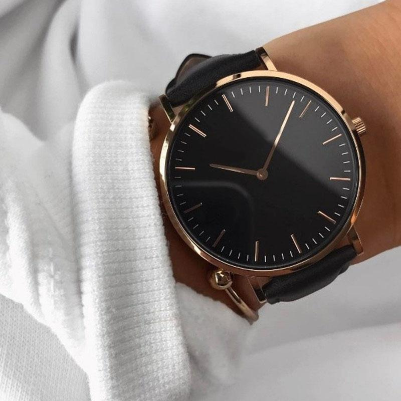 Casual Women Men Luxury Brand Simple Quartz Analog Watch