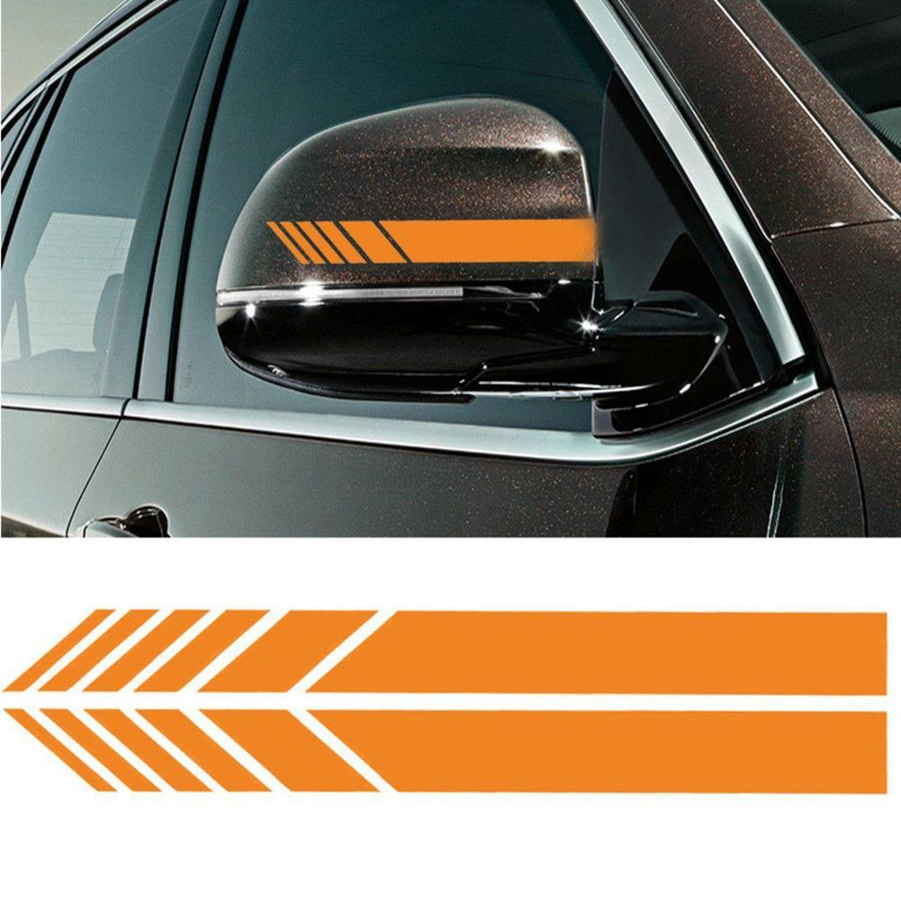 Original 2pcs Diy Car Auto Car Body Sticker Side Decal