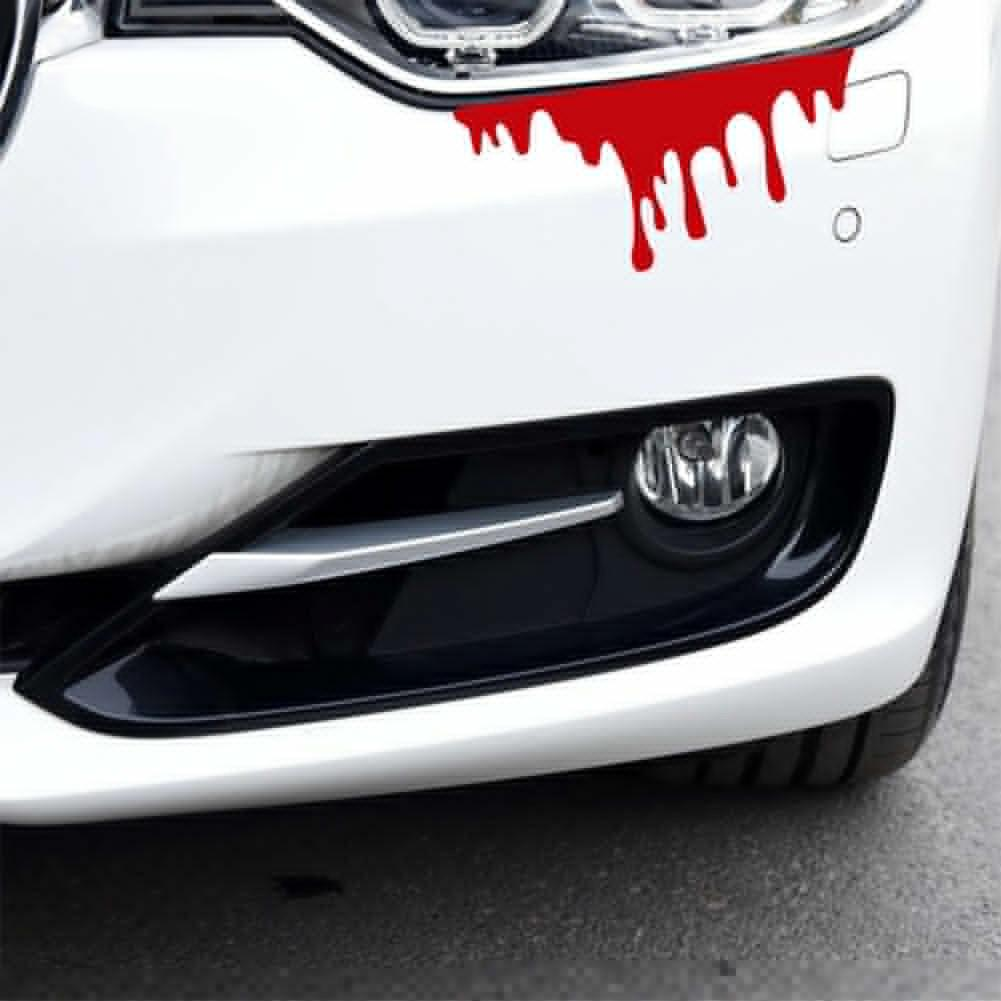 Funny Car Decal Window Blood Flowing Vinyl Truck Auto