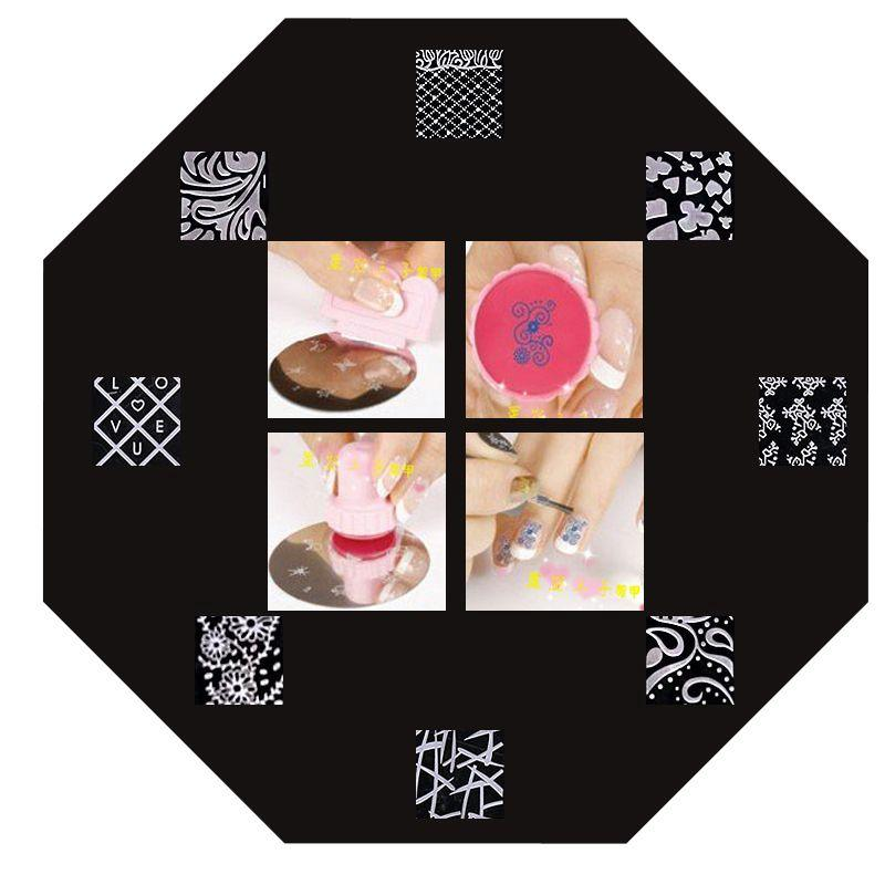 how to clean nail art plates