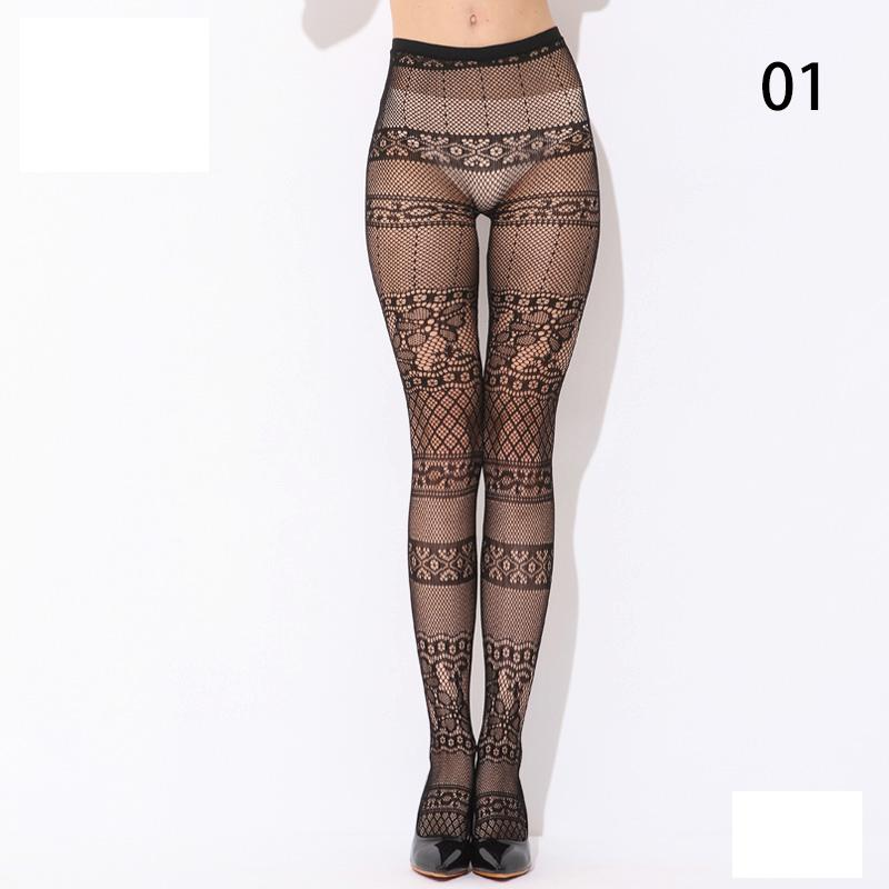 Fashion-Charm-lady-Slim-Sheer-Lace-Top-Thigh-High-Stockings-Pantyhose-HFAU