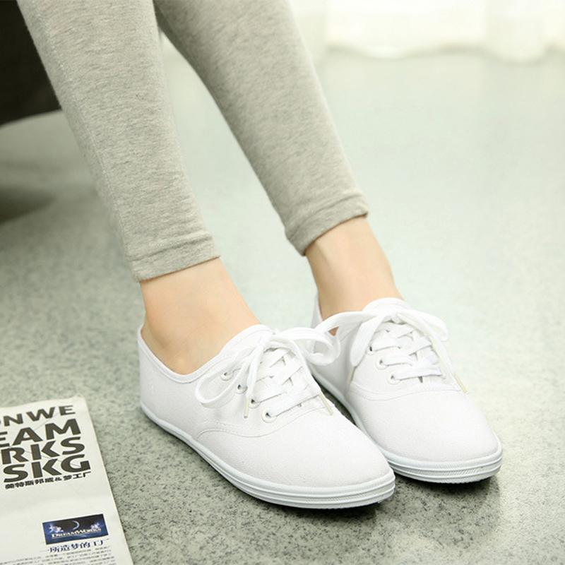 exquisite low breathable sneakers flat canvas