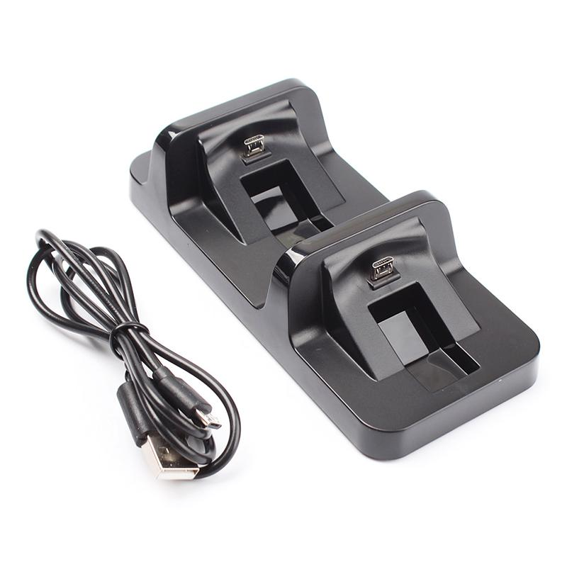Buyincoins Dual Usb Charging Dock Station Stand For