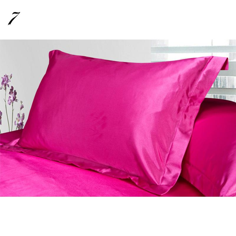 Vogue Pure Satin Pillowcase Single Pillow Cover Multicolor