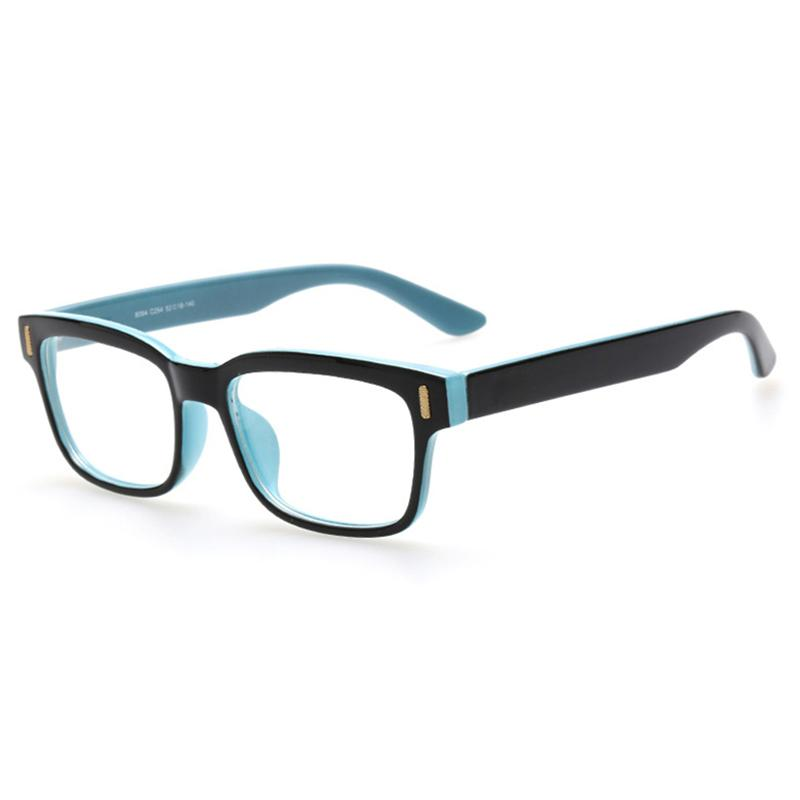 Retro Brand Design Eyeglasses Black Frame Clear Lens ...