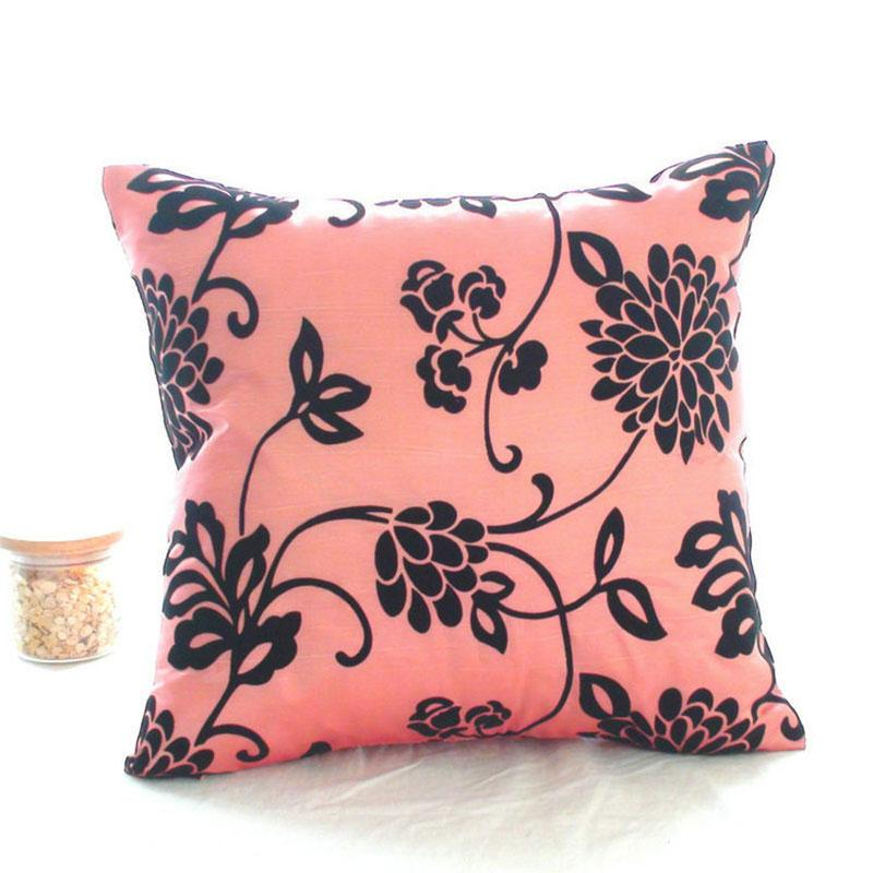 Vogue Square Pillowcases Bed Sofa Throw Pillow Cases Back Cushion Cover Decor eBay