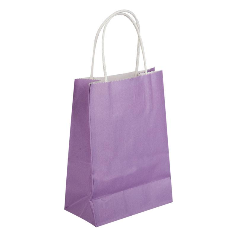 bags kraft paper gift bag with handles recyclable