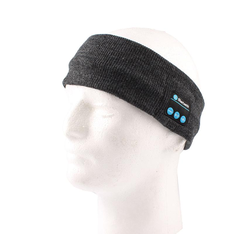 unique men 39 s wireless bluetooth headphone sleep headset sports headband m. Black Bedroom Furniture Sets. Home Design Ideas