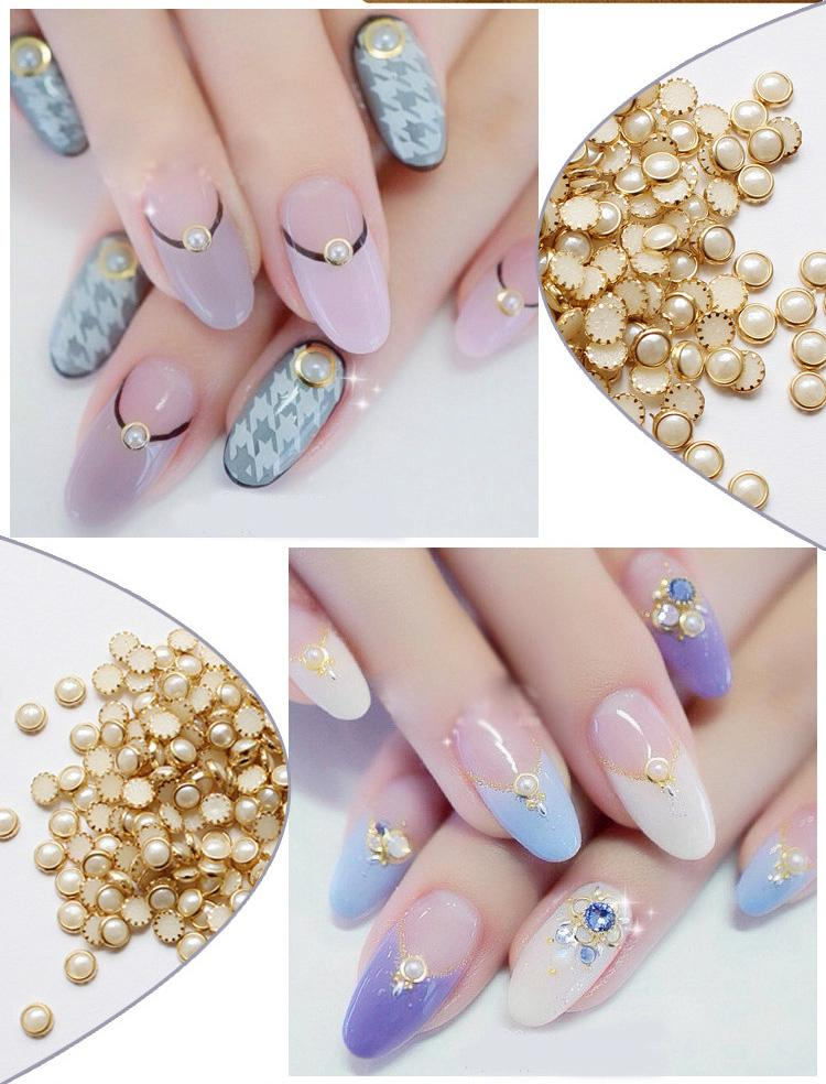 3d acrylic nail art tips decoration glitter rhinestones for Avon nail decoration tool