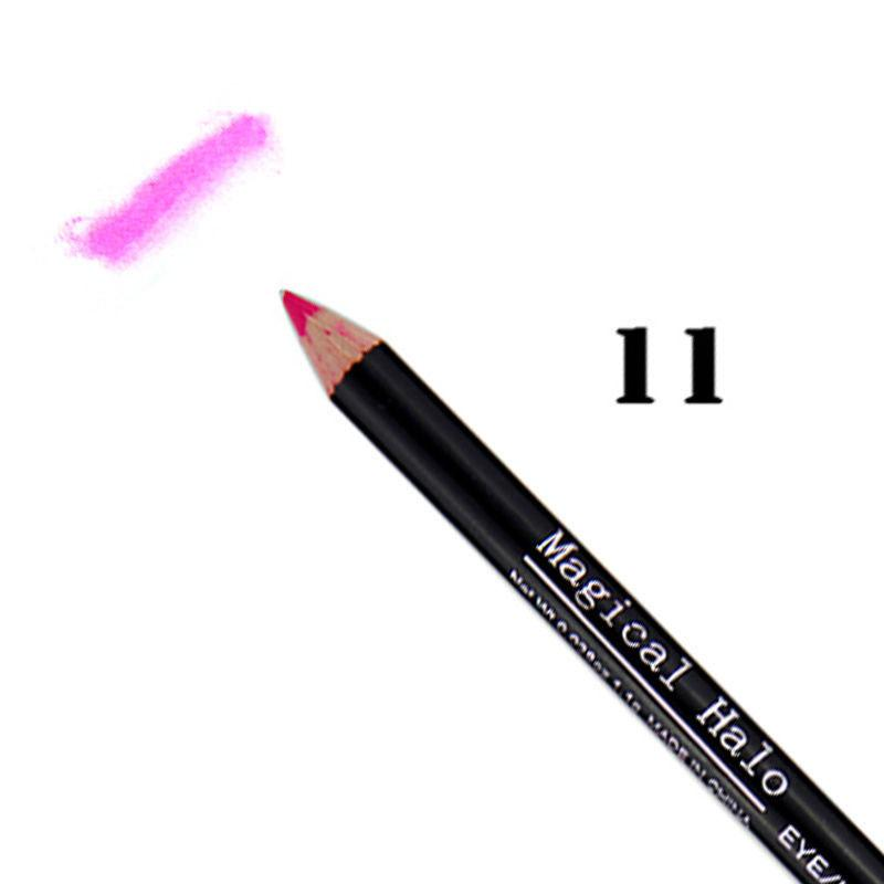 New Fashion Professional Lipliner Waterproof Lip Liner Pen Pencils 15 Colors PE