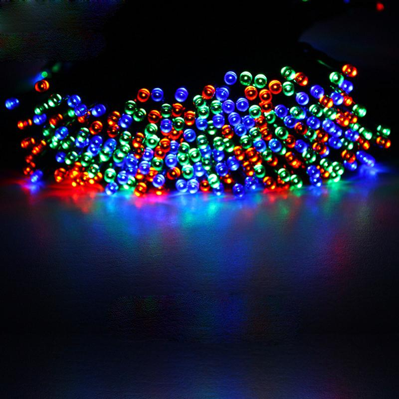 Solar Party String Lights Outdoor : Charm LED Solar Power String Lights Party Xmas Wedding Outdoor Tree Decor Lamp eBay