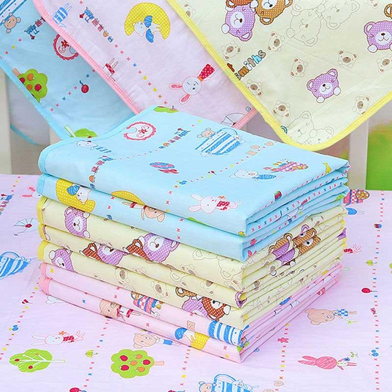 Lovely Cotton Urine Pad Infant Diaper Waterproof Bedding