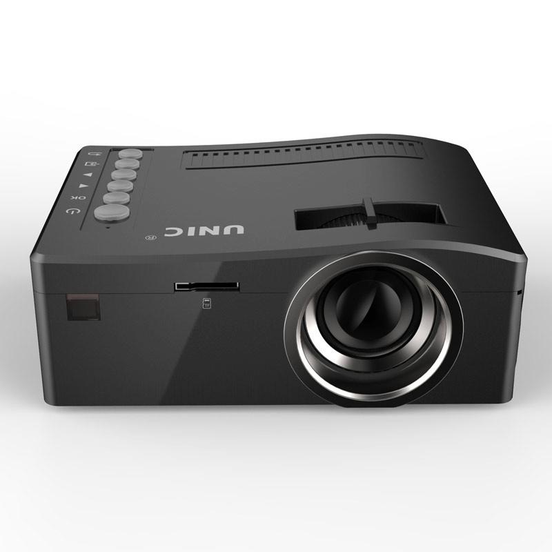 Uc18 hdmi micro av led projector digital mini video for Micro mini projector