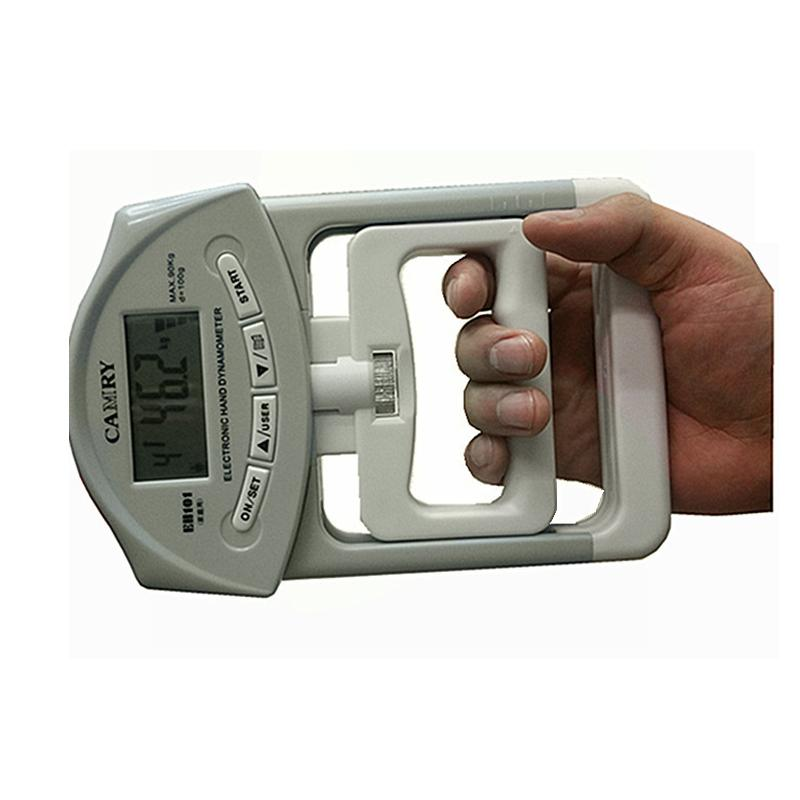 Hand Held Dynamometer : Dynamometer hand held grip reader strength counter fitness