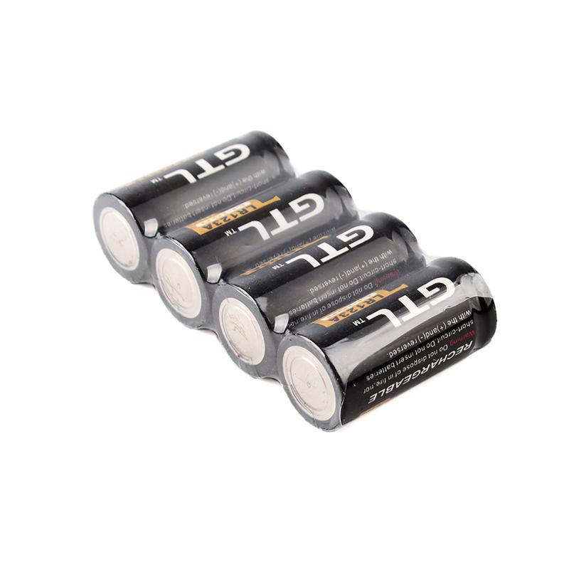 quality 4 piles gtl 16340 battery accus rechargeable cr123a lr123a 3v 1200mah ebay. Black Bedroom Furniture Sets. Home Design Ideas