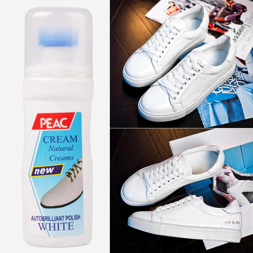 White Shoe Polish Before And After