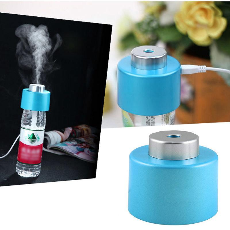 Water Bottle For Office: USB Mini Water Bottle Caps Humidifier Air Diffuser Aroma