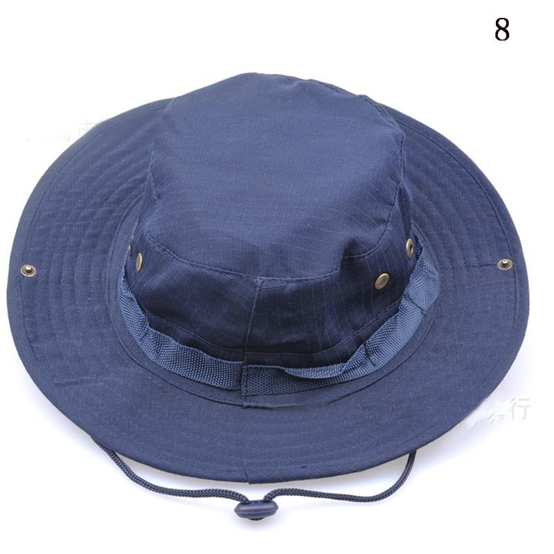 Hunting fishing bucket hat outdoor cap wide brim military for 13 fishing hat