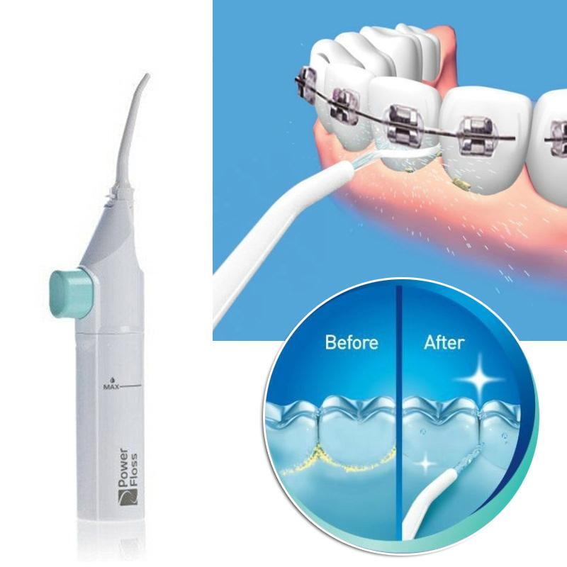 oral irrigator dental water jet floss pick teeth cleaning flusher air powered. Black Bedroom Furniture Sets. Home Design Ideas