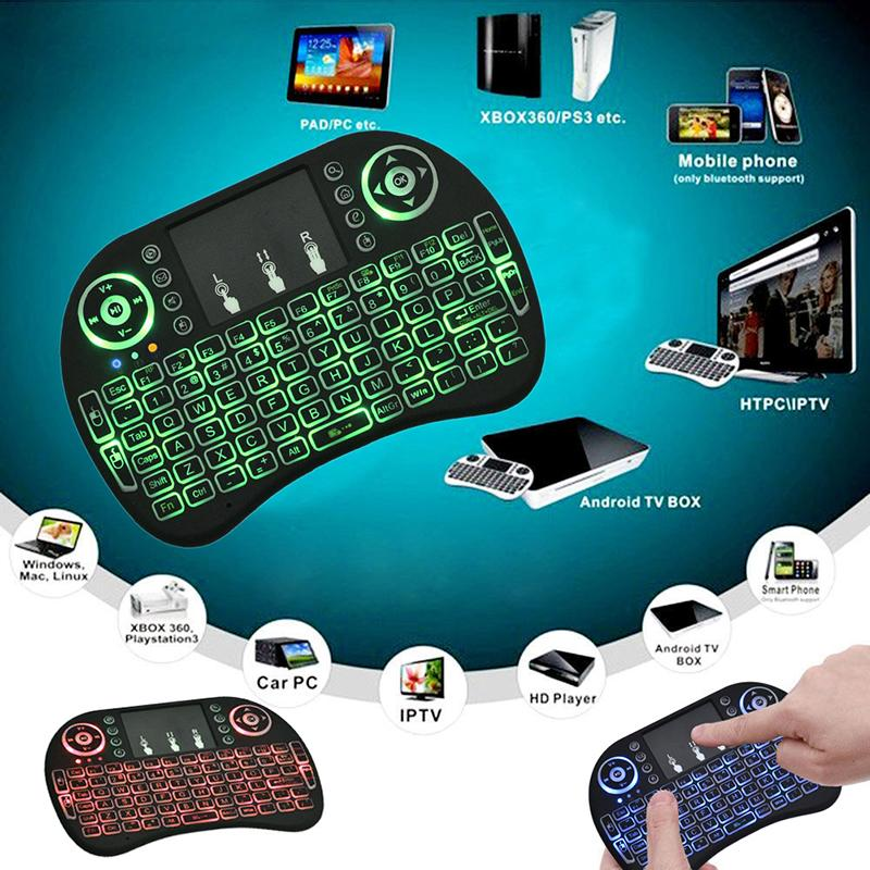 Generic Wireless Mini Keyboard 2.4G with TouchPad Mouse For Smart TV/ Android Box - Black @ Best Price   Jumia Kenya