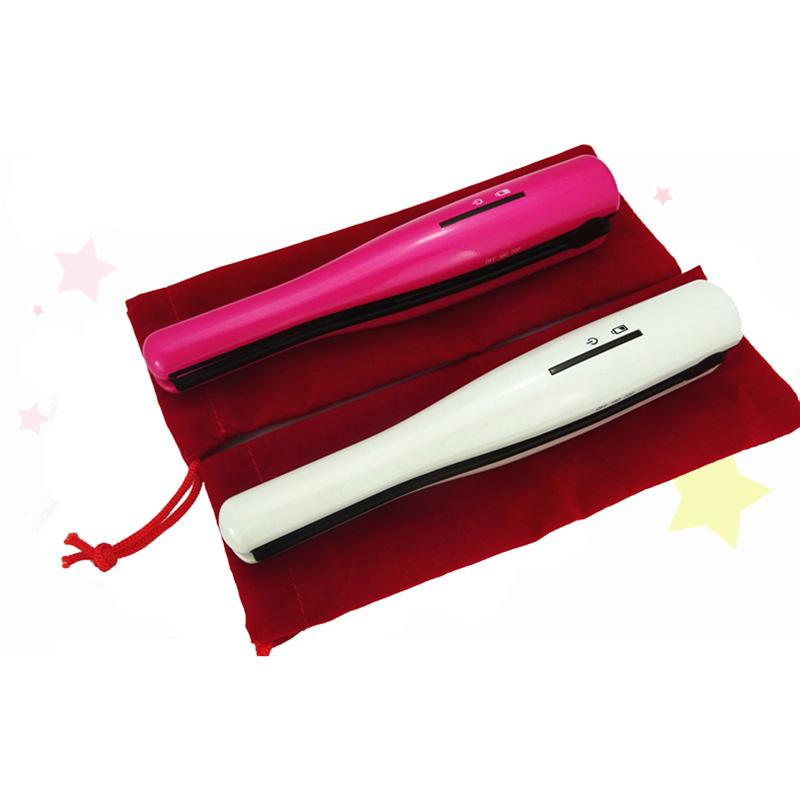 Cordless Styling Iron ~ Mini usb cordless hair straightener styling tools flat