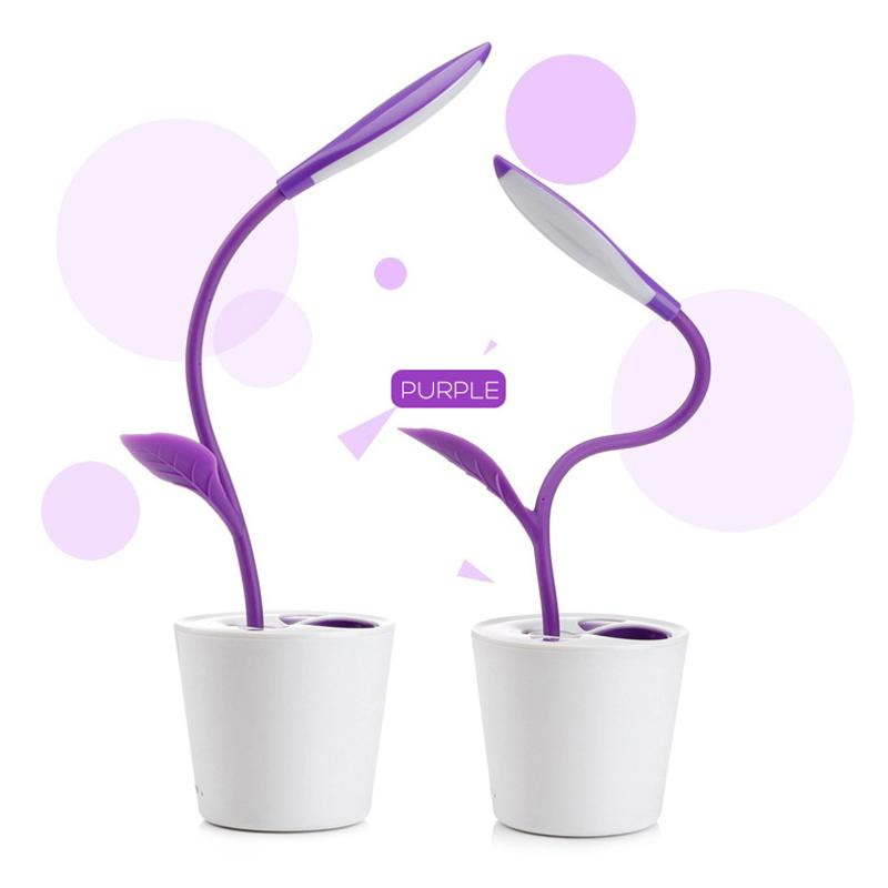 hot dimmable flexible desk lamp usb touch colorful led table reading light ebay. Black Bedroom Furniture Sets. Home Design Ideas