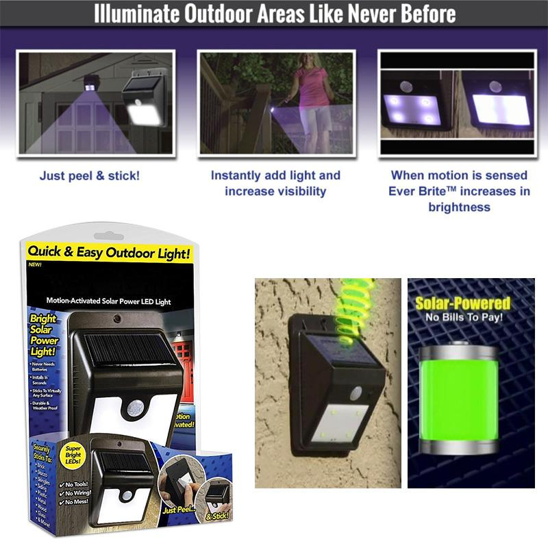 Ever Brite Led Outdoor Light As On Tv Everbrite Solar Powered Wireless