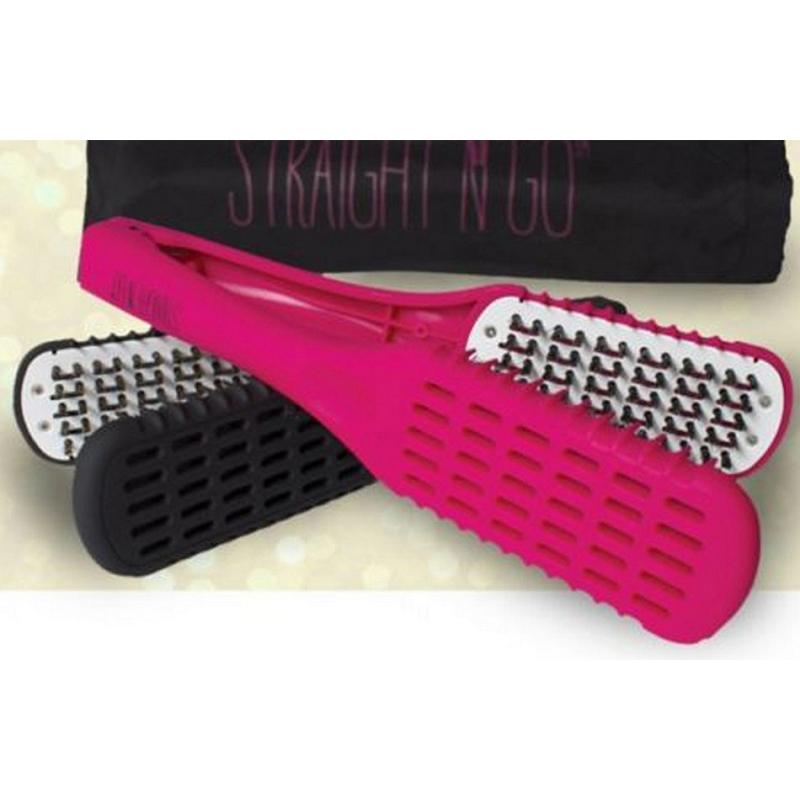 Straight N Go Brush Hair Straightener Without Electricity