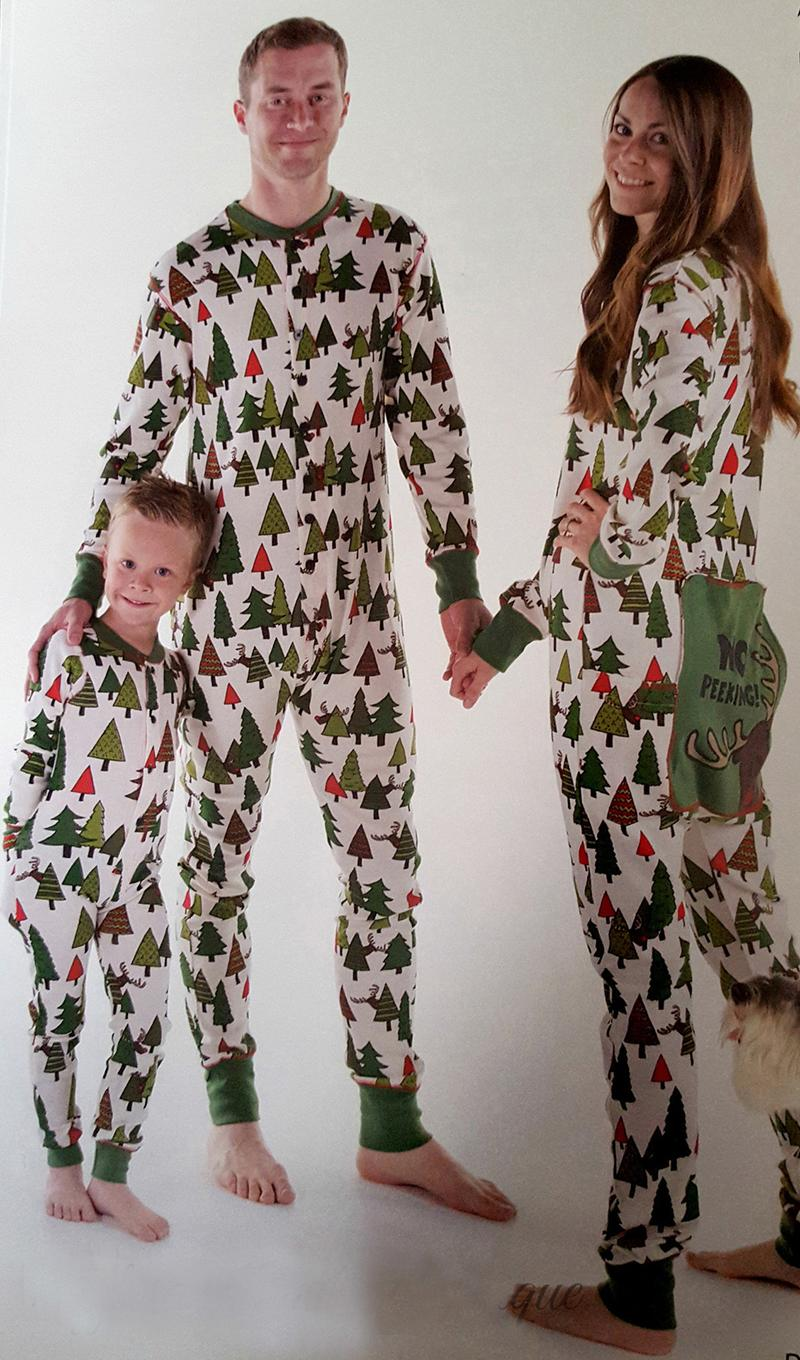 christmas family matching pajamas set children adult. Black Bedroom Furniture Sets. Home Design Ideas