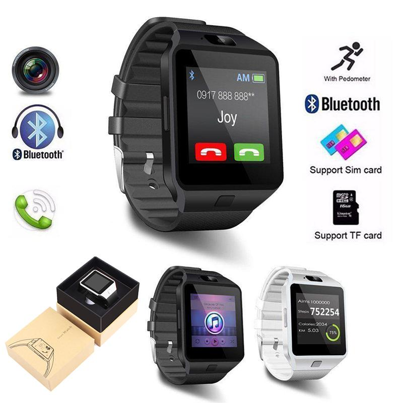 dz09 smart uhr bluetooth mit kamera android uhr telefon sim karte smartwatch. Black Bedroom Furniture Sets. Home Design Ideas